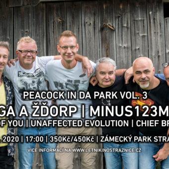 ŽIVĚ: Mňága aŽďorp, minus123minut